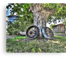 Two Tired to Move Metal Print