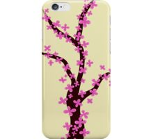 Cherry Blossom on Pink iPhone Case/Skin