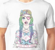 Love Is The Drug Unisex T-Shirt