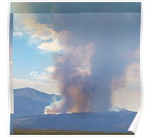 Waldo Canyon fire first day  Poster