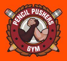 Pencil Pushers Gym Kids Tee