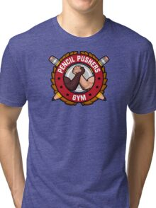 Pencil Pushers Gym Tri-blend T-Shirt