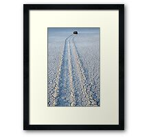 The Racetrack Death Valley California Framed Print