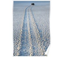 The Racetrack Death Valley California Poster