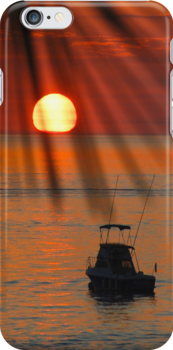 Cabo iphone case by Cheryl  Lunde