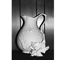 Still Life in White Photographic Print