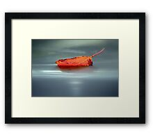 sailing away... Framed Print