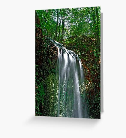 Falling Waters.  Greeting Card