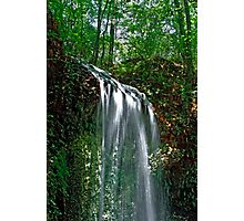 Falling Waters.  Photographic Print
