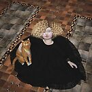 Precious on the floor by Roberta Angiolani