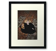 Precious on the floor Framed Print