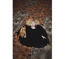 Precious on the floor Photographic Print