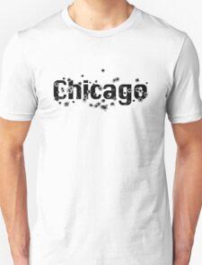 Chicago Mafia History Boss Gunshots  Unisex T-Shirt
