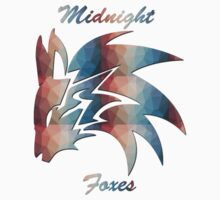 Midnight Foxes (Crystalized) One Piece - Long Sleeve