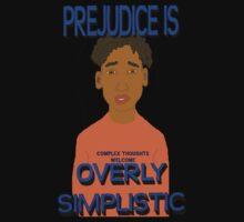 Prejudice Is Simplistic One Piece - Short Sleeve