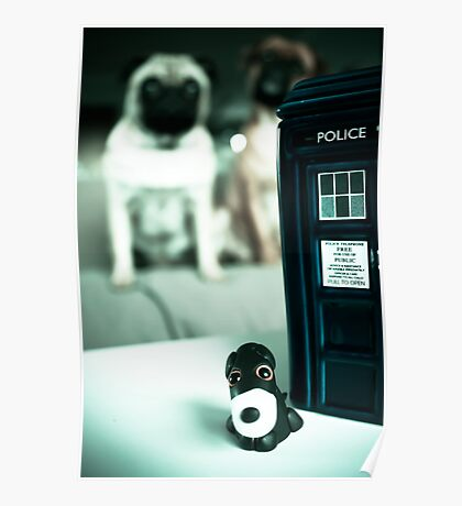 Polymer Pommie & The Tardis Poster