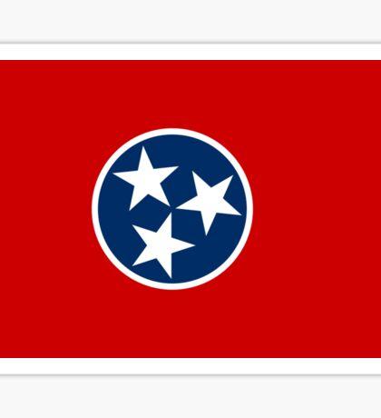 Tennessee State Flag - USA Nashville Memphis - Bedspread T-Shirt Sticker Sticker