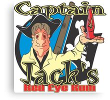 Captain Jack's Red Eye Rum Canvas Print