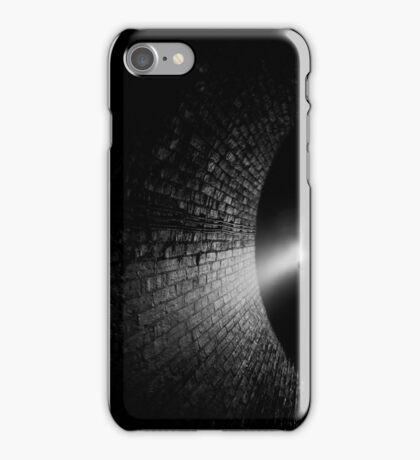 Walking into the Abyss iPhone Case/Skin