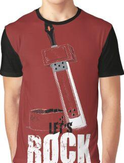 Let's Rock Badguy! Graphic T-Shirt
