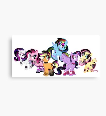 My Little Pony Collection Canvas Print