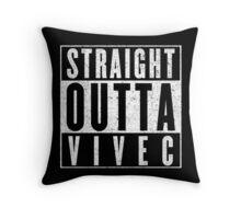 Adventurer with Attitude: Vivec Throw Pillow