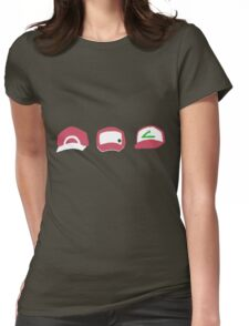 Pokemon: Player Red Womens Fitted T-Shirt