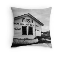 Tuckerton Seaport Throw Pillow