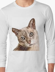 Wild nature - pussy Long Sleeve T-Shirt
