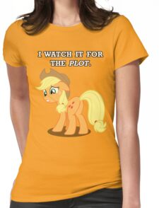 For the Plot (Applejack) Womens Fitted T-Shirt
