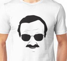 Stan Lee in Black Unisex T-Shirt
