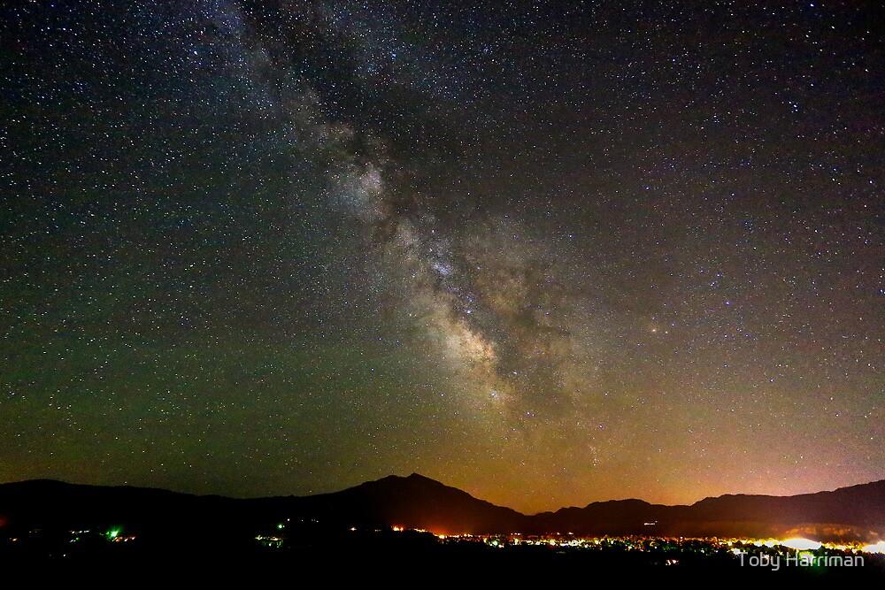 Mount Sopris Milky Way by Toby Harriman