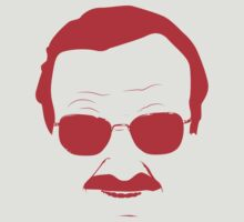 Stan Lee in Red by jash