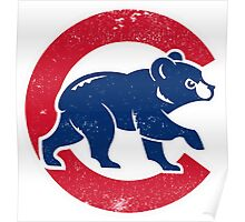 Chicago Cubs baseball Sport Poster