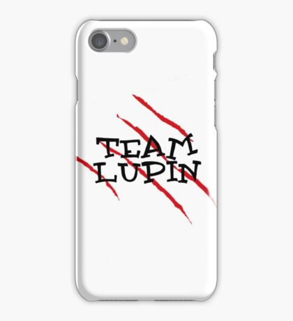 Team Lupin iPhone Case/Skin