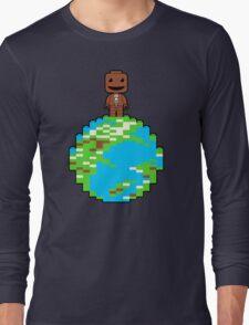 LITTLE BLOCK PLANET Long Sleeve T-Shirt