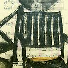 charcoal chair by donnamalone