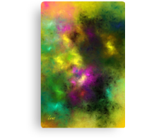 Multi-Colored Abstract Canvas Print