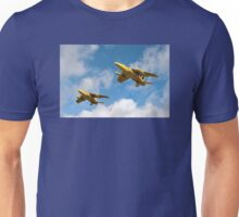 1964 Yellowjacks -  The Forerunners of the Red Arrows Unisex T-Shirt