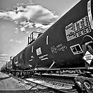 Down the Line B/W by anorth7