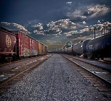 Follow the Tracks by Adam Northam