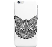 Tortoise Shell Cat- Complicated Cats iPhone Case/Skin