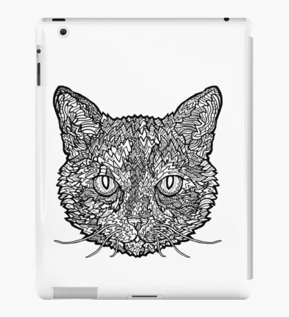 Tortoise Shell Cat- Complicated Cats iPad Case/Skin