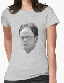 Dwight Shrute Womens Fitted T-Shirt