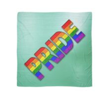 PRIDE Rainbow - Green Scarf