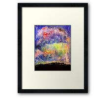 The Night Sky Framed Print