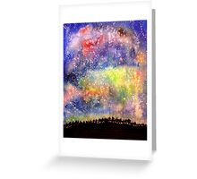 The Night Sky Greeting Card