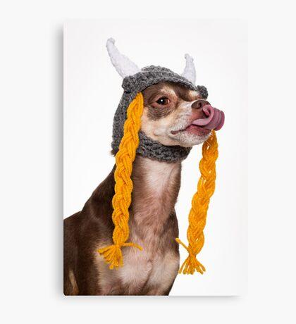 Viking the Dog Canvas Print
