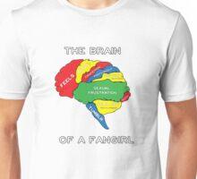 The Brain of a Fangirl Unisex T-Shirt
