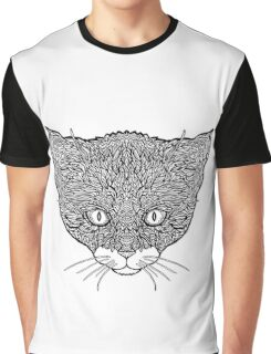 Tuxedo Cat - Complicated Cats Graphic T-Shirt